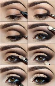 bridal eye makeup eyeshadow for dark brown eyes eye makeup orange brown smokey eyes professional makeup