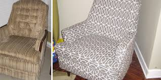 Chair Cover Patterns Interesting Easy Slipcover Instructions