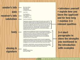 Berkeley Graduate Recommendation Letter 3 Ways To Write A Reference Letter For Graduate School Wikihow
