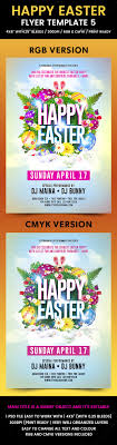 happy easter flyer template by flyermania graphicriver happy easter flyer template 5 flyers print templates