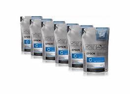 <b>Набор из шести контейнеров</b> Epson UltraChrome DS Ink Cyan ...