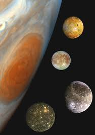 galileo galilei write science modern spacecraft view of the galilean moons which were only dots to galileo