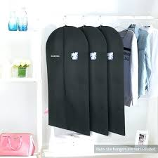 closet garment bag bags suit coat dust cover protector hanging clothes for storage trolley with