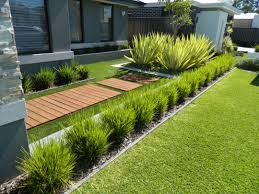 Small Picture one of our front yard design modern contemporary Fake grass WA