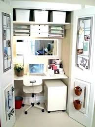 ideas for office space. Office In A Closet Ideas Space Door For