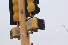 Blue Traffic Light In Florida Red Light Indicators Crossroads