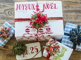 50 Christmas Gift Wrapping Ideas  HGTVDesigner Christmas Gift Wrap