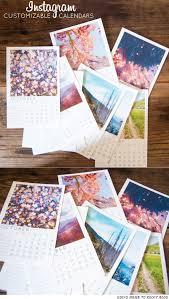 Customizable Calendar 2015 Customizable Instagram Calendar Try It Custom Calendar