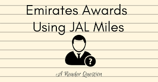 Jal Award Chart Emirates Emirates Awards Using Jal Miles A Reader Question Pointsnerd