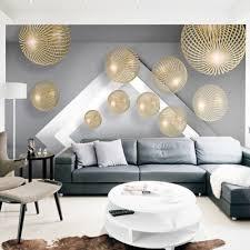 custom mural wallpaper 3d round ball