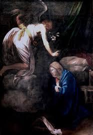 rome et naples annonciation vers 1607 nancy musée des beaux arts caravaggio michelangelo and nico