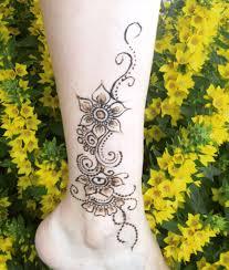 временные татуировки в салоне красоты Blueberry