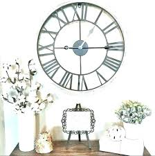 oversized rustic wall clocks decorative marvelous farmhouse white clock oversized white wall clock oversized rustic wall