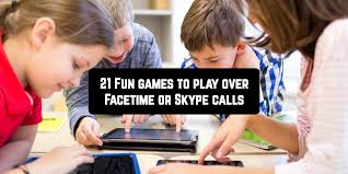 21 Fun Games To Play Over Facetime Or Skype Calls App
