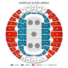 Norfolk Scope Seating Chart For Wwe Norfolk Scope Arena Concert Tickets
