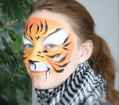tiger face painting tutorial easy tiger makeup
