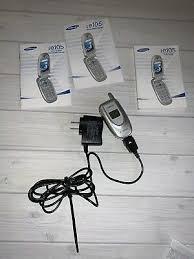 T-MOBILE SAMSUNG E105 Flip Cell Phone ...