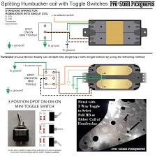 s guides and templates pro steel pickguards a toggle switch for humbucker split into single coils diagram photo