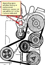 volvo s serpentine belt diagram volvo any trick to installing the serpentine belt on a volvo v70
