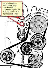 2002 volvo s60 serpentine belt diagram vehiclepad 2002 volvo any trick to installing the serpentine belt on a volvo v70