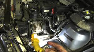 BMW Convertible 1994 bmw 325i oil type : DIY Power Steering Hose Replacement E46 BMW - YouTube