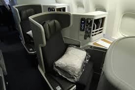 Review American Airlines 777 300er Business Class