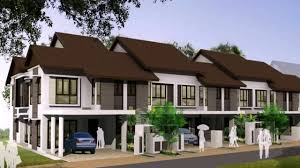 Terrace House Design Example In Malaysia