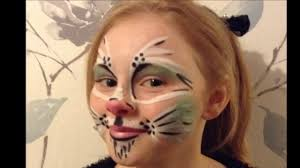 Small Picture Easy Easter Bunny Face Paint Make up Tutorial Easy Guide
