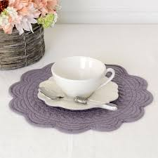 feuille placemat and round table mats