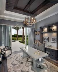 grey home office. Grey And White Luxury Modern Home Office