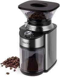 The best grinder under $50: Amazon Com Sboly Conical Burr Coffee Grinder Stainless Steel Adjustable Burr Mill With 19 Precise Grind Settings Electric Coffee Grinder For Drip Percolator French Press American And Turkish Coffee Makers Kitchen Dining