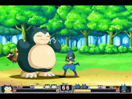 pokemon fighting game