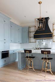 10 Awesome Grey Color Kitchen Cabinets Of White Blue Backsplash