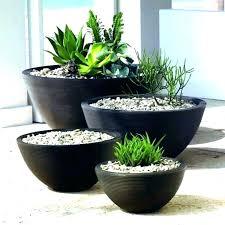 large black garden pots tall plant outdoor planters planter rh mutuieprestiti info outdoor planter pots ceramic