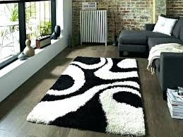 black and white area rug 5x7 black and white striped rug black and white striped rug