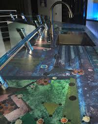 concrete countertops inspired by artwork photos courtesy of sunworks etc llc sunworks