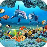 3d fish wallpaper.  Fish Fish Live Wallpaper 3D Aquarium Background HD 2018 On 3d C