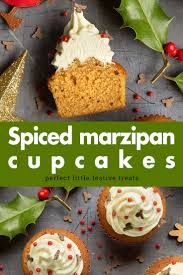 Cupcake Ideas For Bake Sale Spiced Christmas Cupcakes With Marzipan Frosting A Mummy Too