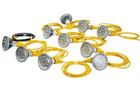 attractive led temp lighting and 250 watt temporary construction string light 10 led par 38 work