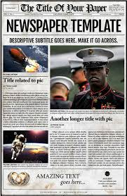 Newspaper Template For Photoshop 44 Amazing Newspaper Templates Available In Psd Indesign Formats