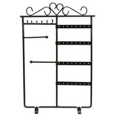 Metal Jewelry Display Stands Sale 100% 100100 Black Velvet Double Tier TBar Bracelet Jewelry 2