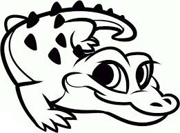 Small Picture Baby Alligator Coloring Pages Coloring Pages