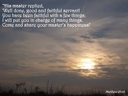 Image result for Matthew 25:23