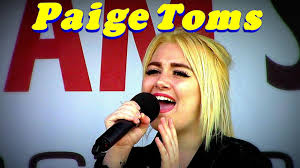 Mindblowing New Artist: Paige Toms - YouTube