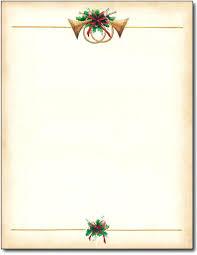 Christmas Stationery Template Free Printable Stationary Borders
