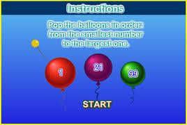 Balloon Pop Math