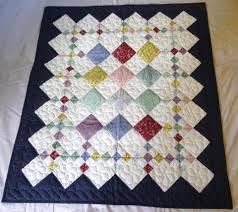 33 best Amish Baby and Infant Quilts images on Pinterest | Around ... & Handmade Amish Baby Quilt - 9-Patch pattern. Adamdwight.com