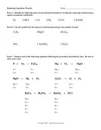 balancing equations practice dochub balancing worksheet answers key large size