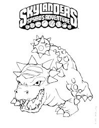 Spyro Coloring Pages Showideeinfo