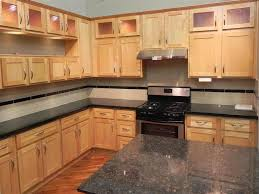 maple shaker kitchen cabinets. Appealing Maple Shaker Kitchen Cabinet Come With L Shape Brown Color Cabinets And SMLFIMAGE SOURCE D